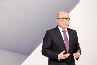 Skoda Auto CEO Bernhard Maier. Photo: Bloomberg