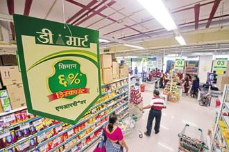 Avenue Supermart shares soared as much as 18.28% to Rs. 1217 on the BSE. Photo: Mint