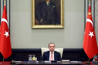 """Let's see where the (Kurdish) regional government will flow its oil, through which channels and where it will sell it,"" Recep Tayyip Erdogan said. Photo: Reuters"