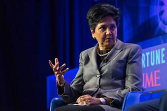 PepsiCo chairman and CEO Indra Nooyi came in at No. 2 in the list of most powerful businesswoman in the USA. File photo: Misha Friedman/Bloomberg