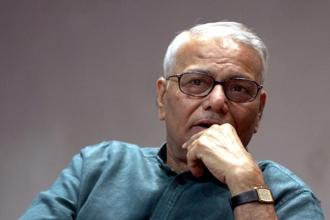 The Prime Minister claims that he has seen poverty from close quarters. His finance minister is working overtime to make sure that all Indians also see it from equally close quarter, Yashwant Sinha said in the 'Indian Express' column. Photo: HT