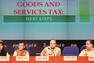 The industry representatives also brought up compliance matters on which finance minister Arun Jaitley invited suggestions to improve the GST implementation. Photo: Pradeep Gaur/Mint