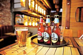 In a short span of two years, Bira 91 craft beer has become the country's favourite beer brand. Photo: Pradeep Gaur/Mint