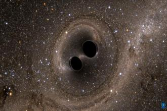 Gravitational waves can be explained as ripples in the fabric of space-time which can only be caused by massive astronomical events such as neutron stars or orbiting black holes. Photo: Reuters