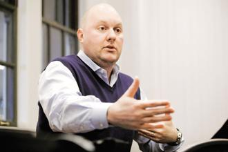 Software is eating the world, says Marc Andreessen, an entrepreneur, investor and co-founder of Netscape. Photo: Bloomberg