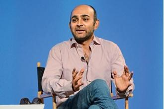 Mohsin Hamid doesn't see 'Exit West' as a dystopian novel, but about a future with new possibilities. Photo: Mark Davis/Getty Images