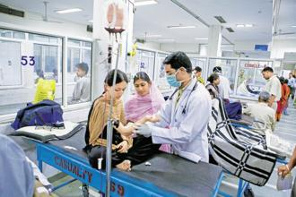 India suffers from an acute shortage of secondary and tertiary hospitals. Photo: Mint