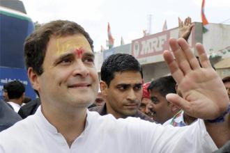 Congress vice-president Rahul Gandhi has scheduled visit to Amethi from 4-6 October. His visit comes ahead of BJP president Amit Shah's visit to Amethi on 10 October. Photo: PTI