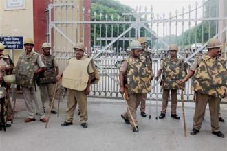 G.C. Tripathi is under fire for his alleged mishandling of student protests at BHU last month. Photo: PTI
