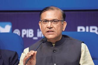 Minister of state for civil aviation Jayant Sinha. File photo: Hindustan Times