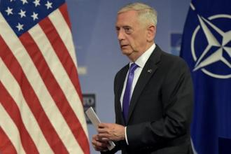 US defence secretary Jim Mattis said, 'In a globalised world, there are many belts and many roads, and no one nation should put itself into a position of dictating 'one belt, one road'.' Photo: Reuters
