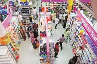 Future Retail, that owns four major retail brands, will find HyperCity sit somewhere between its existing Big Bazaar departmental store network and Foodhall, a premium upscale gourmet store. Photo: Indranil Bhoumik/Mint