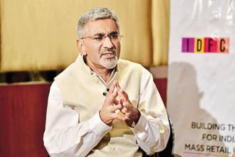 IDFC Bank chief executive officer Rajiv Lall. Photo: Aniruddha Chowdhury/Mint