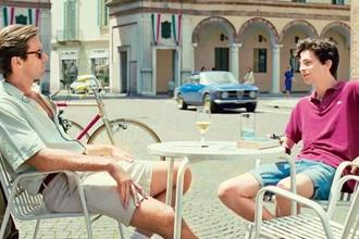 A still from 'Call Me By Your Name'.