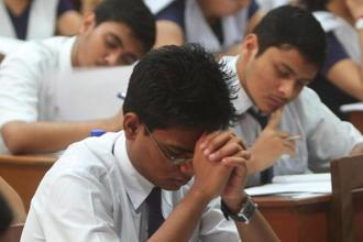 The advisory said the practice of awarding grace marks will continue for students who need just a few marks to pass their exams but this information has to be disclosed on the school and the state board's websites. Photo: Hindustan Times