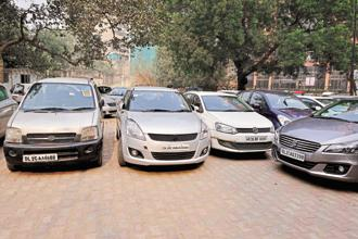 A number of start-ups are working in areas of parking infrastructure, parking solutions and parking management that help users save time, fuel and energy by paying a small convenience fee. Photo: Pradeep Gaur/Mint