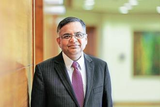 Tata Sons chairman N. Chandrasekaran. Photo: Bloomberg