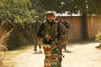 The police is also probing Khalid's role in the recent attack carried out by Jaish-e-Mohammed on BSF battalion headquarters near high-security Srinagar airport. Photo: AP