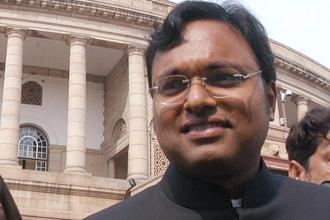 Before this, the apex court had said that Karti Chidambaram would not be allowed to leave India without subjecting himself to investigation in the case. Photo: HT