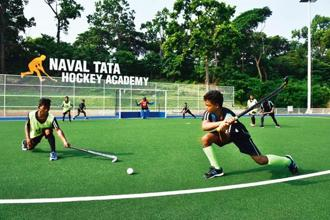 The Naval Tata Hockey Academy in Jharkhand is working with young boys. Courtesy Tata Steel