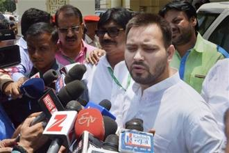 Tejashwi Yadav and others will be probed by the agency under charges filed in the Enforcement Case Information Report (ECIR), the ED equivalent of a police FIR. Photo: PTI