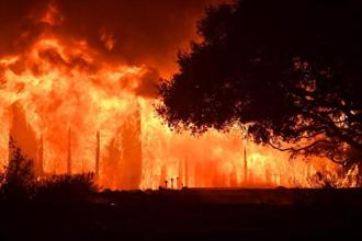 The main building at Paras Vinyards in the Mount Veeder area of Napa, California on Tuesday. AFP