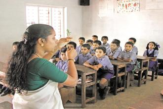 It is high time for the nation to listen to the voice of the teacher, who is asking for so little in return for all of the nation's future. Photo: Alamy