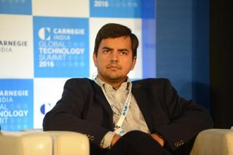 Ola co-founder and CEO Bhavish Aggarwal. The Ola funding is the latest billion-dollar investment round in an Indian start-up this year, after Flipkart and Paytm. Photo: Hemant Mishra/Mint