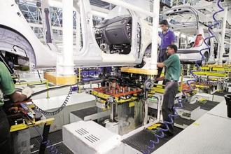 According to the Morgan Stanley report, August IIP may improve as GST-related impact would wane. Photo: HT