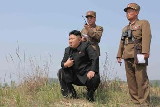 A file photo. Kim Jong Un's hackers are growing more aggressive in defending North Korea's leader against threats from Donald Trump and South Korea. Photo: Reuters