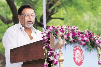 Even though Mukul Roy spoke about why he left the party, there was no clarity on whether he would be joining any other party or start a party of his own. Photo: Mint