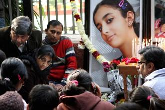 Aarushi Talwar, 14, was found dead inside her room in the Talwars' Noida residence with her throat slit in May 2008. Photo: Hindustan Times
