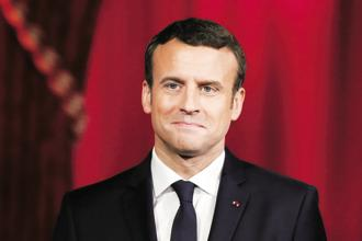A file photo of French President Emmanuel Macron. Photo: AP