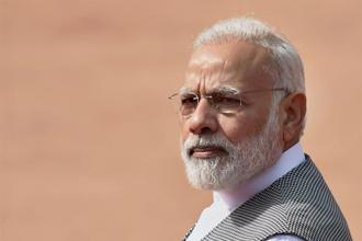 Prime Minister Narendra Modi says his government is fully committed to reverse the trend of slowing growth. Photo: PTI