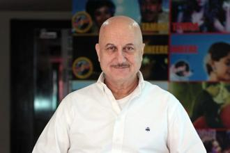Anupam Kher was on Wednesday appointed the chief of Pune-based FTII, an autonomous body under the Union ministry of information and broadcasting. Photo: Hindustan Times