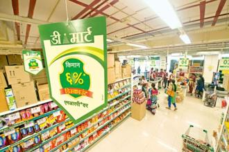 Disruptions owing to GST implementation in the unorganized sector meant that some of that business came to D-Mart during the quarter, enabling it to improve its product mix and sell more of high margin products. Photo: Aniruddha Chowdhury/Mint