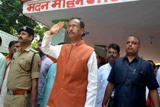File photo. Uttar Pradesh deputy CM Dinesh Sharma said transparency will be ensured in the teachers' transfers and promotions. Photo: PTI