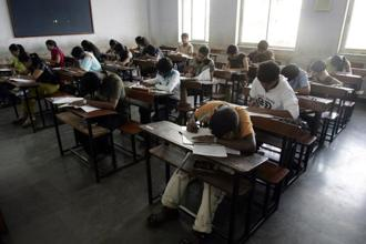 Uttar Pradesh chief secretary Rajive Kumar said the move is aimed to ensure copying-free board exams to be held across state. Photo: Hindustan Times