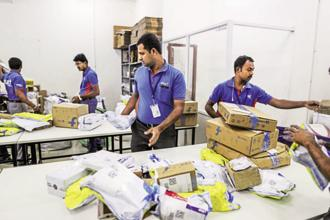 Flipkart is seeking a deal and business partnership with BookMyShow partly to get a higher share of the spending by upper-middle-class and rich Indians. Photo: Bloomberg