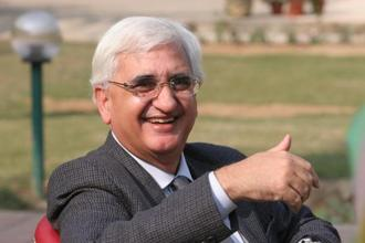 Congress leader and former minister of external affairs Salman Khurshid. Photo: HT