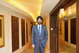 Mastercard CEO Ajay Banga. Photo: Ramesh Pathania/Mint