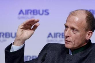 Tom Enders was appointed as Airbus CEO in 2012. Photo: Reuters