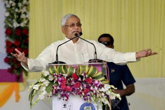 Nitish Kumar said Bihar was among the first states to have raised the demand at a GST council meeting. Photo: PTI