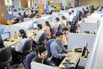 TeamLease's acquisition of Evolve Technologies is the second since July when it bought ASAP Info Systems for Rs67 crore to enter the IT hiring space. Photo: Hemant Mishra/Mint