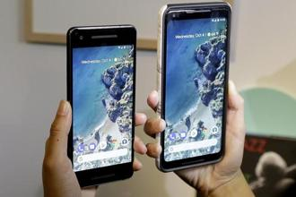 Using the Pixel Visual Core, Google said the phone's camera hardware will process HDR images five times faster and use less than a 10th of power than doing so on its main applications processor. Photo: AP