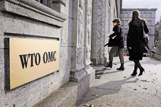 Countries including Canada circulated a draft decision on global e-commerce rules during an informal WTO meeting on Monday. Photo: AFP