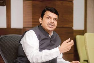 Devendra Fadnavis says the remaining Rs800 crore will be in the form of incentive for 3.78 lakh farmers who are paying their loans on time.  Photo: Abhijit Bhatlekar/Mint