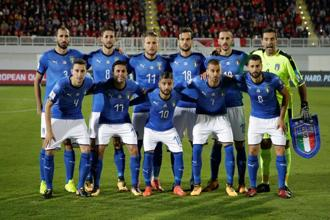 Italy will be favourites against Sweden, having not missed a World Cup finals since 1958. Photo: Reuters