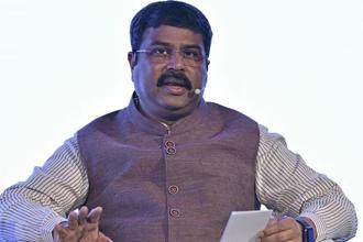 India's oil minister Dharmendra Pradhan met his Mozambique counterpart Leticia Klemens on the sidelines of an LNG conference in Tokyo to discuss the development of the Rovuma gas field. Photo: Bloomberg