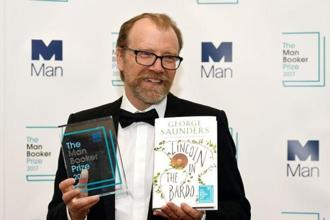 George Saunders. Photo: Reuters